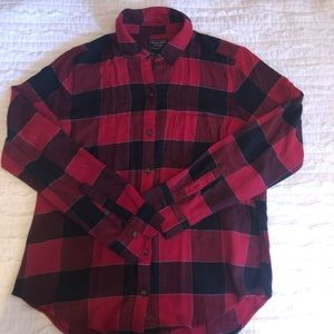 Abercrombie and Fitch Plaid Button Down